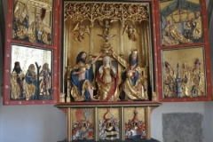 Flügelaltar Kirche Sulzberg