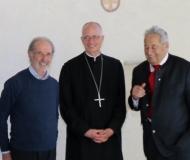 Andreas mit Wendelin und Abt Markus